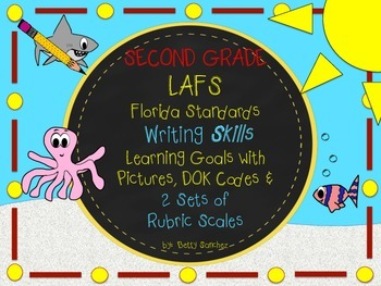 LAFS-FLA SECOND GRADE WRITING Learning Goals with 2 SETS o