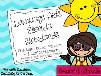 LAFS - Language Arts Florida Standards {2nd Grade - Turquo