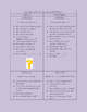LAFS Question/Prompting Task Cards -Kindergarten