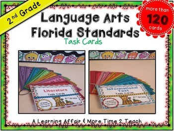 LAFS Question Stems Task Cards {2nd Grade}