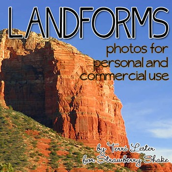 Photos Photographs LANDFORMS land forms for Personal and C