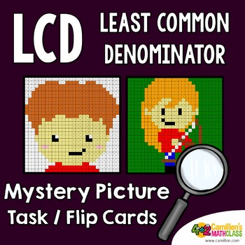 Least Common Denominator (LCD) Task Cards