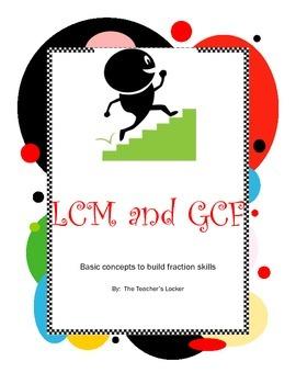 LCM and GCF Mini-Pack
