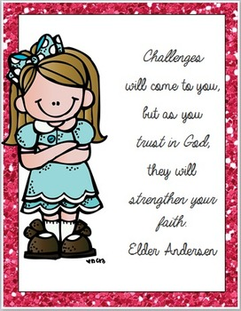 LDS Challenges Quote