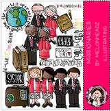 LDS missionaries by Melonheadz