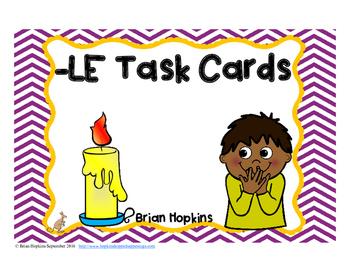 LE Ending Sounds Task Cards