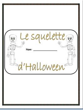 LE SQUELETTE D'HALLOWEEN - Build-A-Book