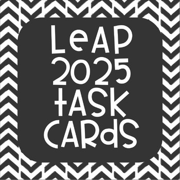 LEAP Test Review Math Task Cards