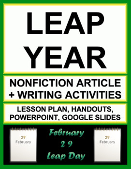 LEAP YEAR / LEAP DAY NO PREP
