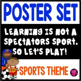 SPORTS CLASSROOM THEME BULLETIN BOARD SET