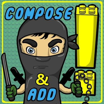 Number Ninjas – Printables for Composing, Decomposing & Ad