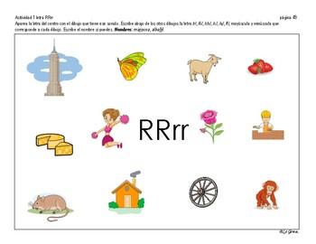 LENGUAJE 3 Letras RR, R, C-Q, F, CH, Ñ.