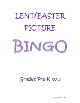 LENT/EASTER BINGO