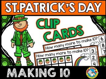LEPRECHAUN TASK CARDS: MAKING TEN: ST. PATRICK'S DAY MATH