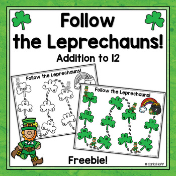 LEPRECHAUN HOP!  St. Patrick's Day Addition Freebie