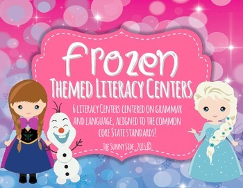 LET IT GO! Literacy Centers