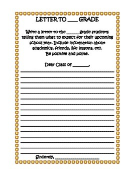 LETTER TO GRADE