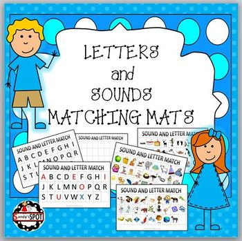 LETTERS AND SOUNDS MATCHING MATS