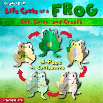 Life Cycle of a Frog Hands-on Activity