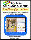 LIFE SKILLS Work Task Basket PACKING SLIP Functional Readi