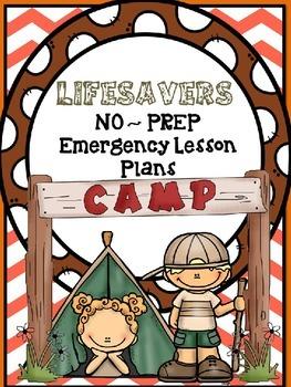 LIFESAVERS (NO PREP) EMERGENCY / SUBSTITUTE  LESSON PLANS