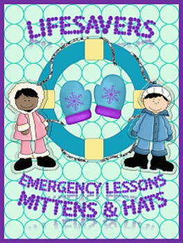 MITTENS AND HATS  ~ NO PREP SUBSTITUTE / EMERGENCY LESSON PLANS