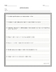 literary packet generic worksheets high school by ruth s teachers pay teachers. Black Bedroom Furniture Sets. Home Design Ideas