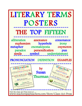 Literary Terns Posters: The Top 15  (15 Pages, $6)