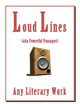LITERATURE LOUD LINES