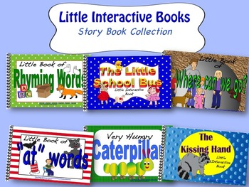 LITTLE INTERACTIVE BOOKS Story Book Collection
