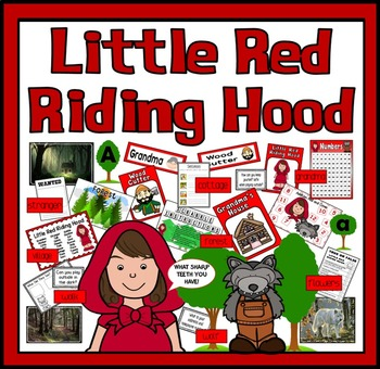 LITTLE RED RIDING HOOD STORY TEACHING RESOURCES EYFS KS1 F