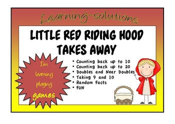 NUMBER FACTS - LITTLE RED RIDING HOOD TAKES AWAY - 5 Board
