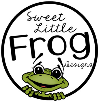 LIl' Frog Illustrations Store Button and Terms of Use