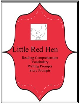LIttle Red Hen Printables