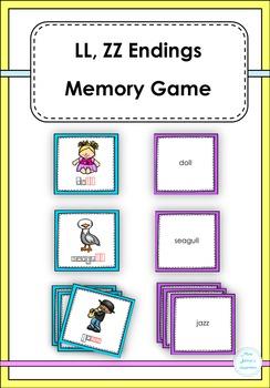 LL, ZZ Ending Memory Game