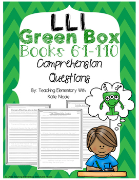 Green System #61-110 Comprehension Questions