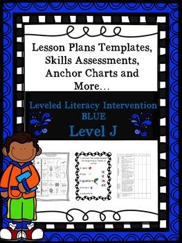 LLI Anchor Charts, Skills Assessments, Lesson Plan Templat