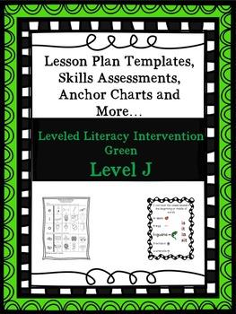LLI Anchor Charts, Skills Assessments,Lesson Plan Template