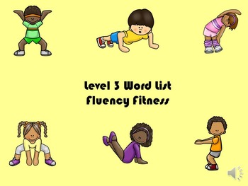 LLI Word List 3 - Green Series