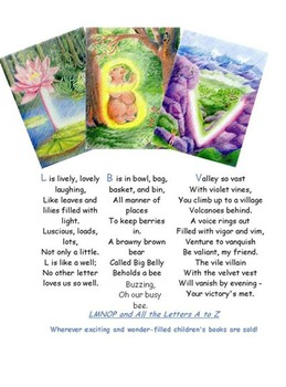 LMNOP Laminated Wall Cards