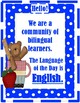 LOD - Language of the Day Sign