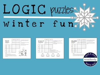 LOGIC PUZZLES / winter