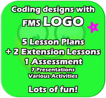 LOGO - ICT Computing - Complete 5+ Lessons Unit - Fun and