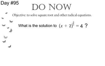 LONG HAUL: Algebra 2  Rational Expressions 2 Smartboard #44