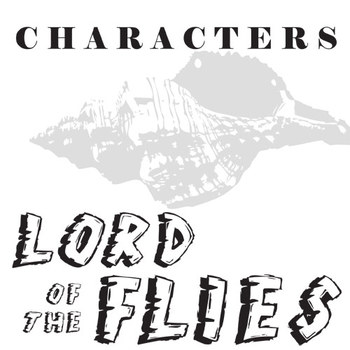 LORD OF THE FLIES Characters Organizer