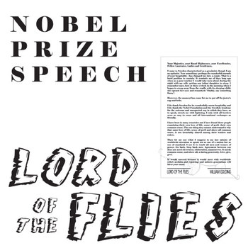 LORD OF THE FLIES Class Poster - Nobel Prize Speech