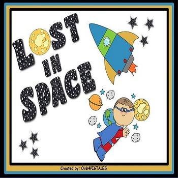 SPACE THEME NAME PLATES and WORD WALL CARDS
