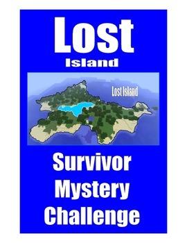 SALE . . . $8.50 . . . LOST ISLAND SURVIVOR MYSTERY CHALLE