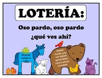 LOTERIA: Oso pardo, oso pardo: que ves ahi?