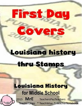 LOUISIANA - FDC Stamps: What They Tell Us About History